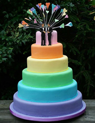 gay wedding cakes chicago