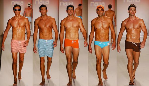 mens fitness abs Swimwear-