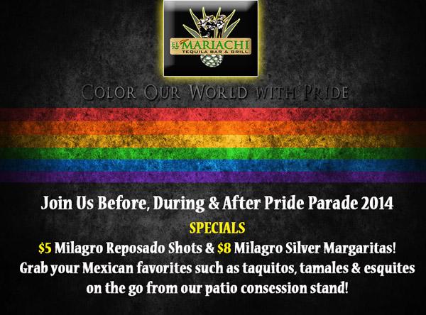 Pride Parade Mariachi