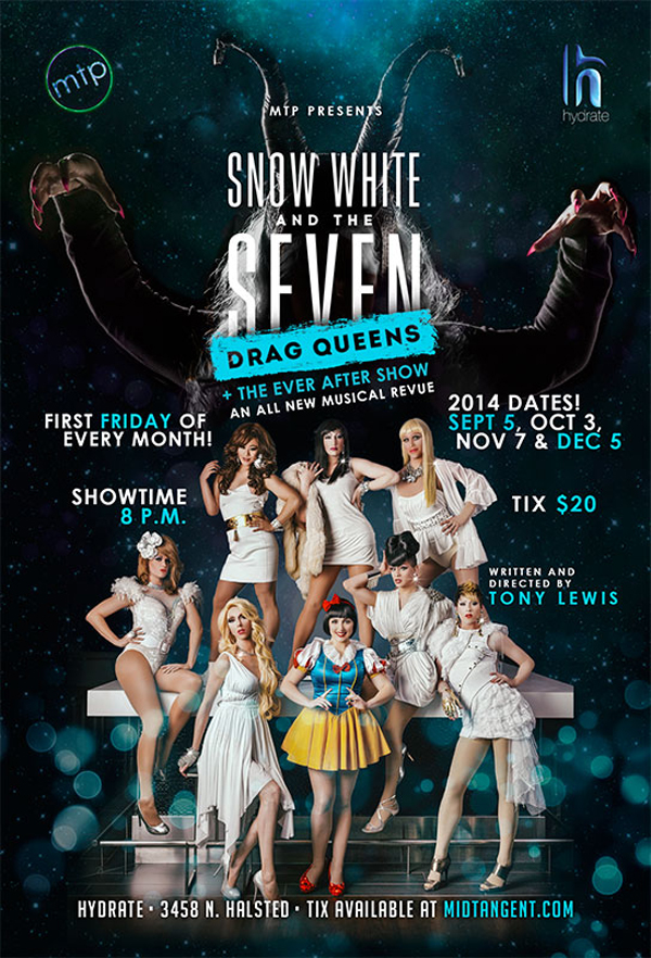snow white and seven drag queens hydrate chicago