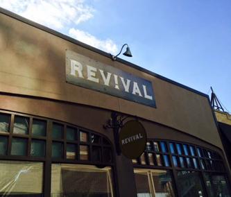 Revival Restaurant Menu