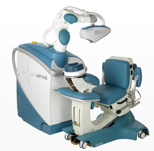 ARTAS-hair replacement machine