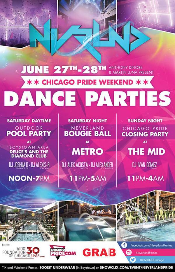 neverland chicago parties