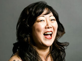 Margaret Cho photographed in New York City.