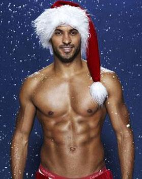 sexy santa guy man