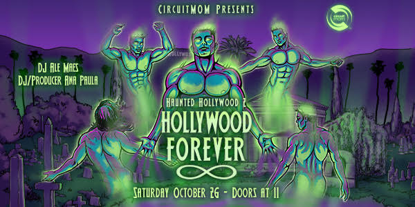 Haunted Hollywood Oct 26 - More info