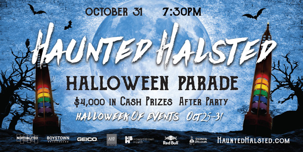 Boystown halloween Parade Oct 31